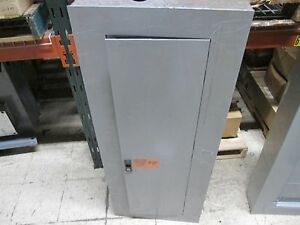 Ge Breaker Panel Aqu3422mb 225a Max 42 Circuit 3ph 4w Used