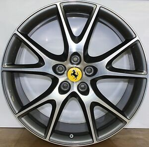 Ferrari California Original Wheels 20 Rims Cerchi Originali Rader Kreiser
