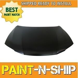 New Fits 2013 2014 2015 2016 2017 Honda Accord Coupe 4cyl Hood Painted Ho1230172