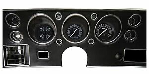 Classic Instruments Chevelle Malibu Ss Gauge Cluster Traditional Series Cv70tr