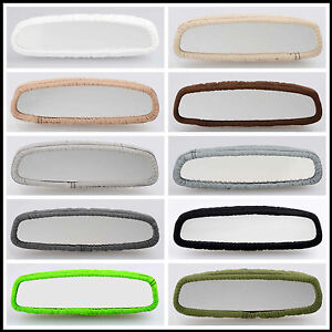 Cc Cotton Rear View Mirror Cover Choose From 22 Colors