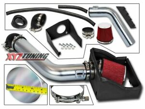 4 Red Heat Shield Cold Air Intake Induction Kit Filter For 09 10 F150 5 4l V8