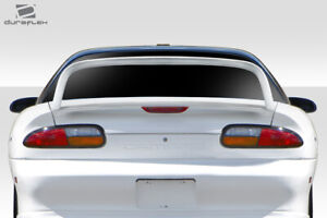 93 02 Chevrolet Camaro Duraflex Super High Wing Spoiler 1 Pc 114091
