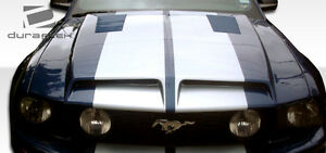 05 09 Ford Mustang Duraflex Gt500 Hood 1pc Body Kit 104717