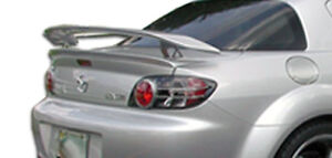 For 04 11 Mazda Rx 8 M 1 Speed Wing Spoiler 3pc 100585
