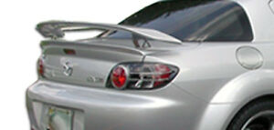 04 11 Mazda Rx 8 Duraflex M 1 Speed Wing Spoiler 3pc Body Kit 100585