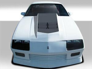 82 92 Chevrolet Camaro Duraflex Zl1 Look Hood 1pc Body Kit 108414
