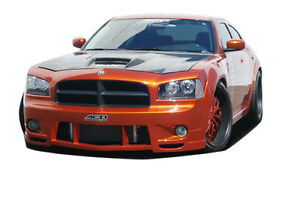 06 10 Dodge Charger Couture Luxe Wide Body Front Bumper 1pc Body Kit 104812