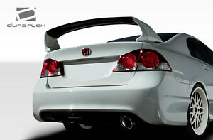06 11 Honda Civic 4dr Duraflex Jdm Type R Conversion Rear Bumper 2pc 107738