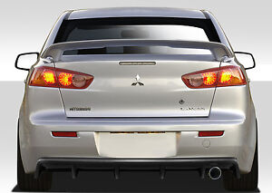 08 15 Mitsubishi Lancer 4dr Duraflex M Power Rear Diffuser 109290