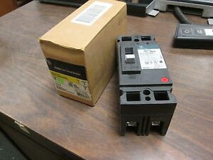 Ge Circuit Breaker Teb122030wl 30a 240 Vac 250 Vdc 2p New Surplus