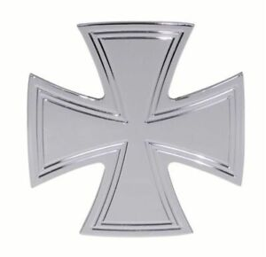 Iron Cross Chrome Billet Tow Trailer Hitch Cover W 2 Receiver Chevrolet Gm