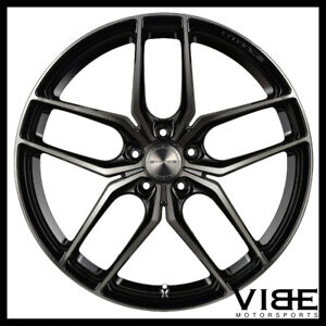 20 Stance Sf03 Black Forged Concave Wheels Rims Fits Chevrolet Camaro
