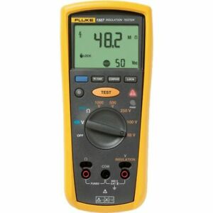 Fluke 1507 Digital Megohmmeter test Voltages Insulation Resistance Tester