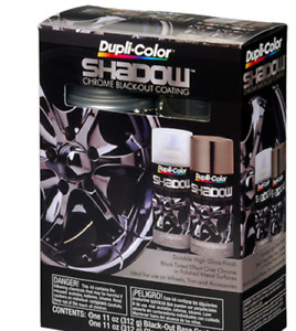 Dupli Color Shd1000 Shadow Chrome Black Out Coating