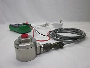 Pressure Gauge 75 000 Psi 75000 Transducer Complete System Great For Waterjet