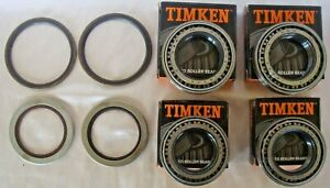 2 Set Jaguar Xjs 76 To 93 Timken Rear Wheel Bearing Kit Jlm9732 Inboard
