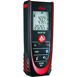 Leica D2 Laser Distance Measurer With Bluetooth 838725
