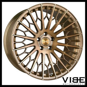 20 Stance Sf02 20x10 5 Bronze Forged Concave Wheels Rims Fits Audi B8 A5 S5