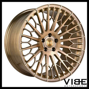 20 Stance Sf02 Bronze Forged Concave Wheels Rims Fits Bmw E46 M3