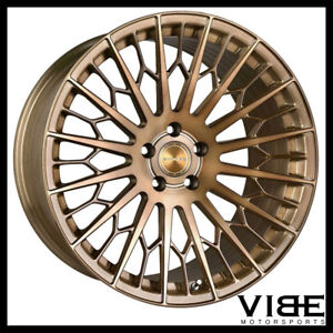 20 Stance Sf02 Bronze Forged Concave Wheels Rims Fits Mercedes W221 S550 S63