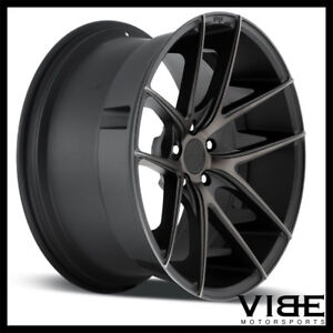 20 Niche Targa Machined Concave Wheels Rims Fits Nissan Maxima