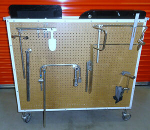 Chick langren Orthopedic Surgical Table Parts Equipment Traction Cart 3692