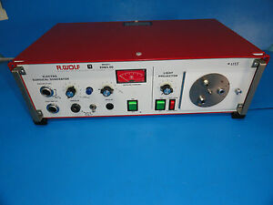 Wolf 2083 40 Electrosurgical Generator esu With Light Projector Source 3926