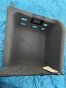 Bmw Oem E39 525 528 530 540 M5 97 03 Rear Trunk Battery Trim Tray Cover Back Oem