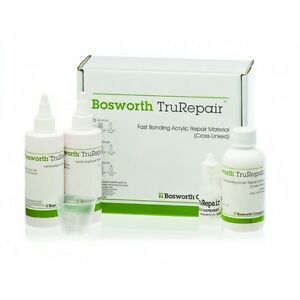 Bosworth Trurepair Fast Bonding Acrylic Repair Kit