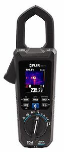 Flir Cm174 True Rms 600a Ac dc Clamp Meter With Igm Built In Thermal Imager