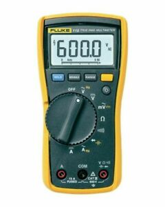 Fluke 115 Compact True rms Digital Multimeter Cat Iii 600 V Safety Rated