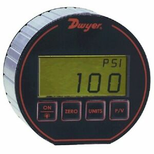 Dwyer Instruments Dpg 111 Digital Pressure Gauge 5000 Psig With 0 25 Accuracy