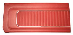 Falcon Futura Door Panels For 4 Door Sedan 1965 Front And Rear