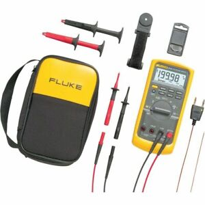 Fluke 87v e2 Industrial True rms Multimeter Combo Kit 87 5 e2 kit