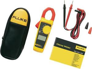 Fluke 323 Trms Digital Clamp Meter With Soft Carrying Case Test Leads