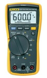 Fluke 117 Electrician s Multimeter With Non contact Voltage W Test Leads