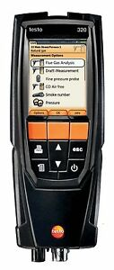 Testo 320 Combustion Flue Gas Analyzer Kit With Printer 0563 3220 71