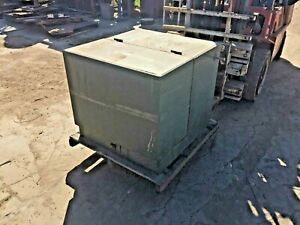 Cooper 100 Kva Oil Filled Pad Mount Transformer Hv 4160 Volts Sec 240 120 Volts