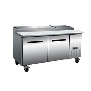 New Maxx Cold Mxcpp70 Maxxcold X series 71 Pizza Prep Table
