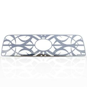 Grille Insert Guard Tribal Polished Stainless Fits 07 09 Toyota Tundra