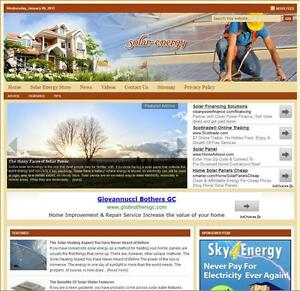 solar Energy Turnkey Website For Sale turnkeypages
