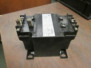 Hammond Control Transformer Ph750mqmj 750va Pri 240v 480v Sec 120v 240v Used