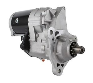 New 24v Starter Fits Case 8120 9120 Combines 2008 on W Iveco Eng 228000 7551