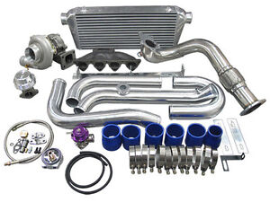 Cxracing 96 00 Integra Gsr Turbo Kit Keeps Ac Ps Bolt On Fit