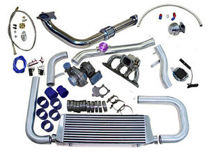Cxracing Honda Civic 92 95 Eg B Series Turbo Charger Kit Fmic Dx