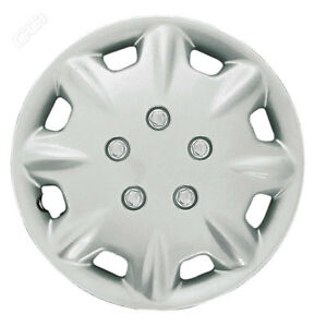 For 96 97 Honda Accord 15 Hub Cap Rim Wheel Covers New Silver Set Of Four