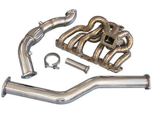 Cxracing T4 Turbo Manifold Downpipe For 98 05 Lexus Is300 2jz ge Na t 11gauge