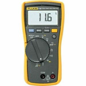 Fluke 116 Hvac Multimeter With Temperature Microamps Catiii 600v Safety Rated