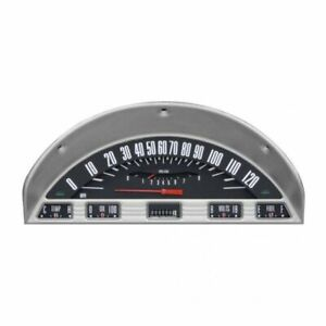 Classic Instruments Dash Gauge Package Black complete Fits 1956 Ford F 100 Truc